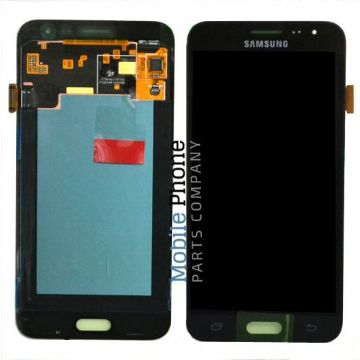 Genuine Samsung Galaxy J3 2016 J320F LCD + Digitiser Black - Part No: GH97-18414C